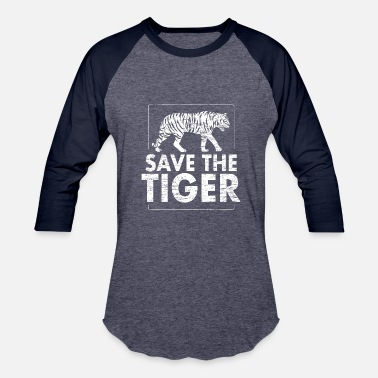 Protection Save the tiger Animal Protection - Baseball T-Shirt