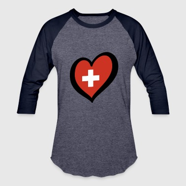 Switzerland - Baseball T-Shirt