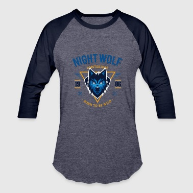 Night Wolf - Baseball T-Shirt
