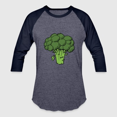 broccoli - Baseball T-Shirt