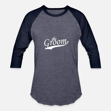 Grooms Day Groom - Baseball T-Shirt