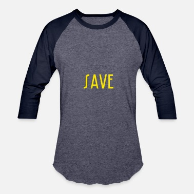 Save The Vinyl save - Baseball T-Shirt