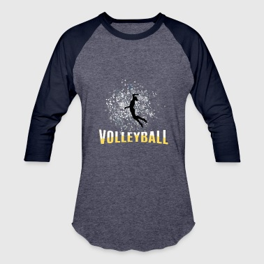Player Volleyball female player - Baseball T-Shirt