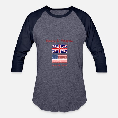 Prince Harry Prince Harry & Meghan Royal Wedding Memorabilla - Baseball T-Shirt