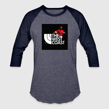 Latino THE WEST COAST - Baseball T-Shirt
