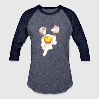 Cracked egg - Baseball T-Shirt