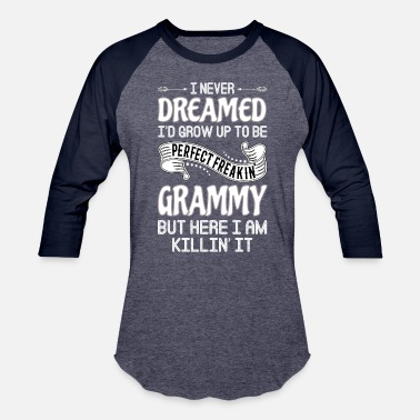 Worlds Okayest Grammy Perfect Freakin' Grammy - Baseball T-Shirt