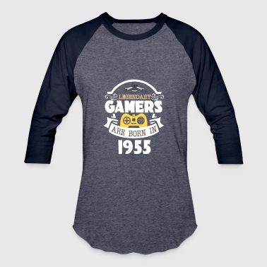 Legendary Gamer Legendary Gamers Are Born In 1955 - Baseball T-Shirt