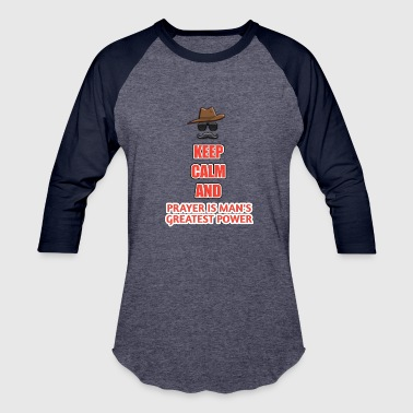 Keep clam t shirt - Baseball T-Shirt