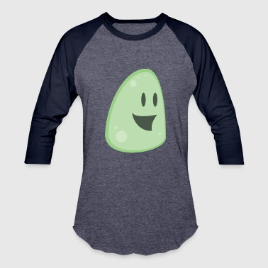 Slimey Face - Baseball T-Shirt