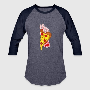Slut Gym pizza slut - Baseball T-Shirt