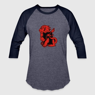 Geek House House Of Lion - Baseball T-Shirt
