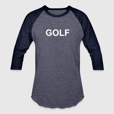 Golf Hip Hop Golf Funny retro odd hip hop fashion cool future s - Baseball T-Shirt