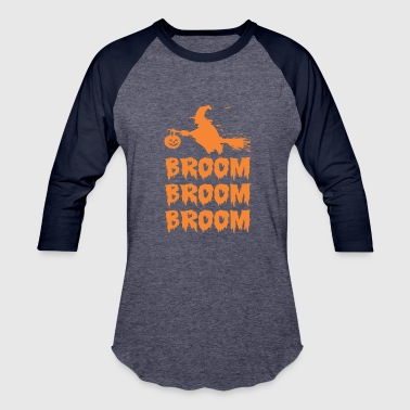 Broom Halloween Broom Broom Broom - Baseball T-Shirt