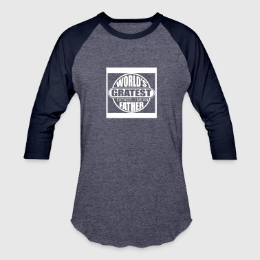 Worlds Greatest Farter Father - Baseball T-Shirt