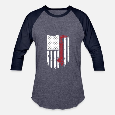 Welding Clothing Welding Flag Tshirt - Baseball T-Shirt