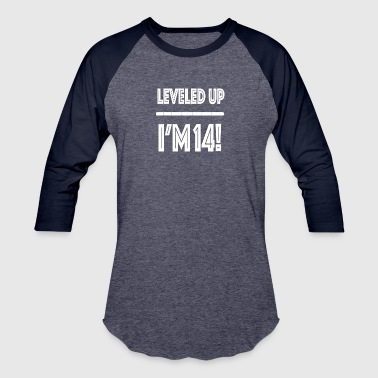 Leveled Up I m 14 - Baseball T-Shirt