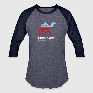 Mascot Politics Political Party Animals: Camel - Baseball T-Shirt