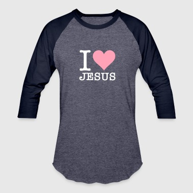 New Testament I Love Jesus - Baseball T-Shirt