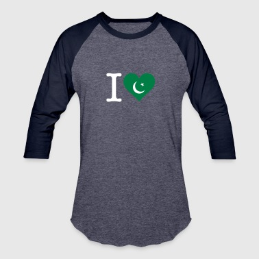 I Love Pakistan - Baseball T-Shirt