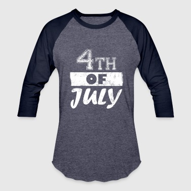 Autonomie Independence Day 4th Of July American Patriots - Baseball T-Shirt