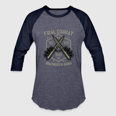 Final Girl Final Combat2 - Baseball T-Shirt