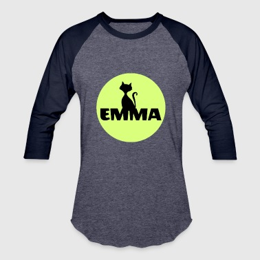 First Name Initial Emma first name - Baseball T-Shirt