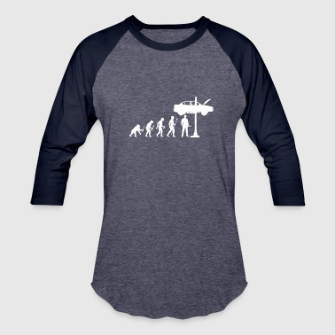 Evolution Of Man and Mechanic Funny Shirt - Baseball T-Shirt