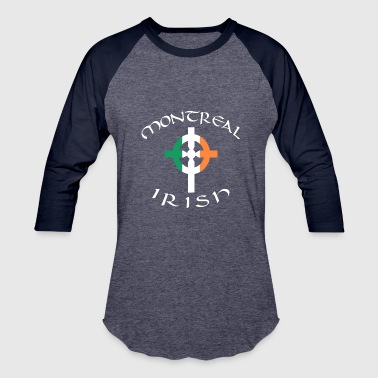 Celtic Pride Ireland Canada Pride Celtic Cross Montreal Irish - Baseball T-Shirt