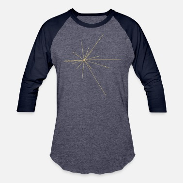 Pulsar Pulsar Map - Baseball T-Shirt