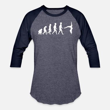 Pole Dance Evolution Evolution Pole Dance Dancing Dancer - Baseball T-Shirt