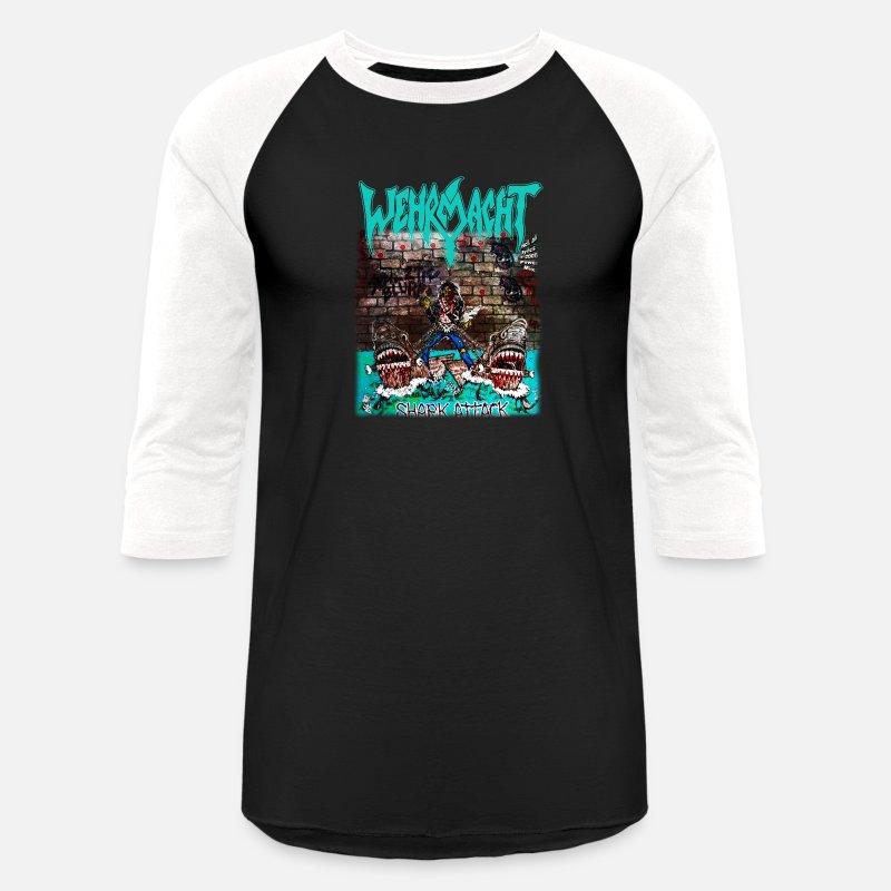 Unisex Kids Comfy Shirt Shark Attack T-Shirt