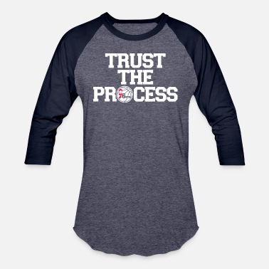 Trust The Process TRUST THE PROCESS 5 - Unisex Baseball T-Shirt