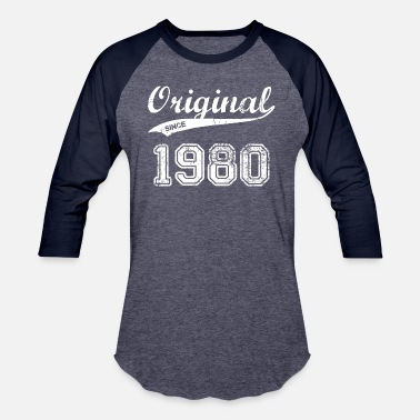 Established 1980 1980 - Baseball T-Shirt