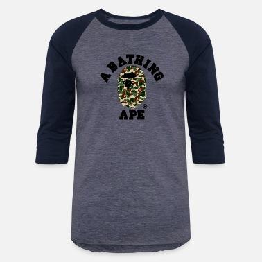 8157308a470f Bathing Ape BAPE A BATHING APE - Unisex Baseball T-Shirt