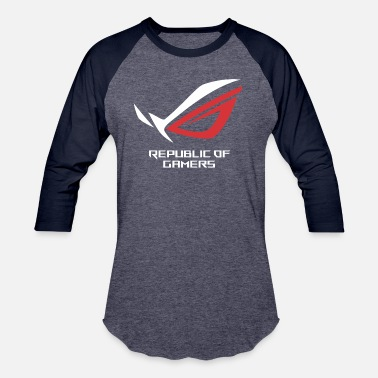 Republic Of Gamers Asus Republic Of Gamers Mercandis ROG - Unisex Baseball T-Shirt