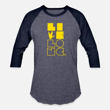 Live long, all you Trekkies! [yellow] - Unisex Baseball T-Shirt