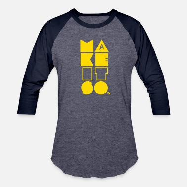 Make it so! [yellow] - Unisex Baseball T-Shirt