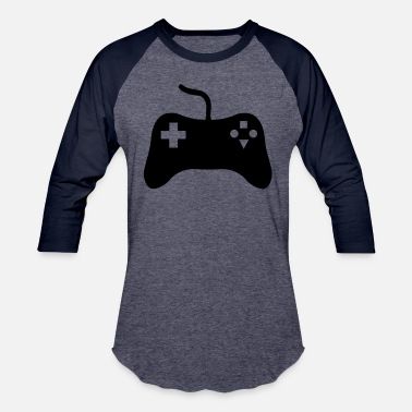 Console Gaming Console - Unisex Baseball T-Shirt