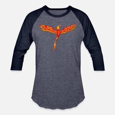Red Phoenix Phoenix - Baseball T-Shirt