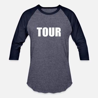 Tour TOUR - Unisex Baseball T-Shirt