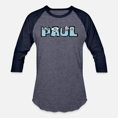 Paulina paul first name male child baby offspring pregnant - Baseball T-Shirt