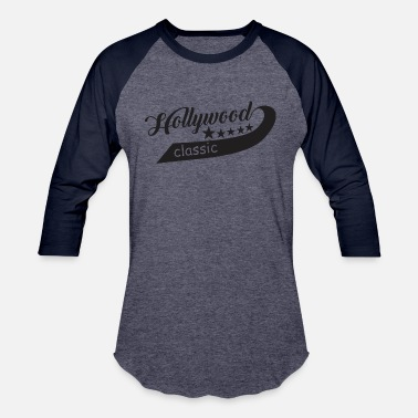 Hollywood New Hollywood Classic Star - Unisex Baseball T-Shirt