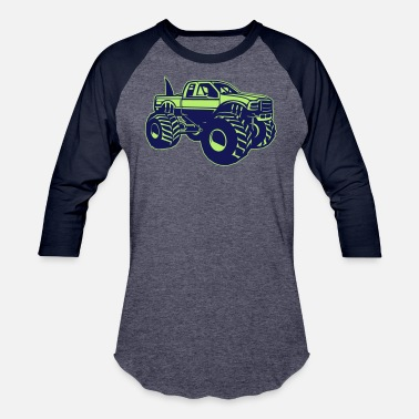 Monster Truck Monster truck - Baseball T-Shirt