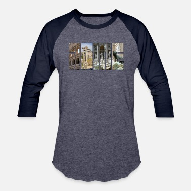 Monument The monuments of ancient Rome - Baseball T-Shirt