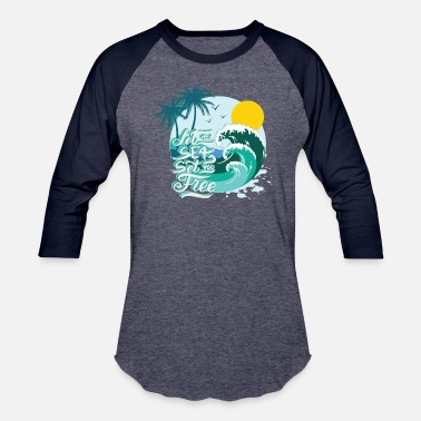 Surf And Sea sea surfing summer Gross - Baseball T-Shirt