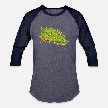 Sick Graffiti Seriously Sick - Unisex Baseball T-Shirt