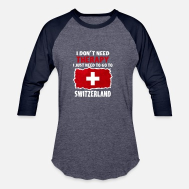 Switzerland Switzerland - Baseball T-Shirt