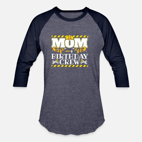 Birthday Party Childrens Gift Unisex Baseball T Shirt