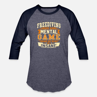Freediving Freediving - Baseball T-Shirt